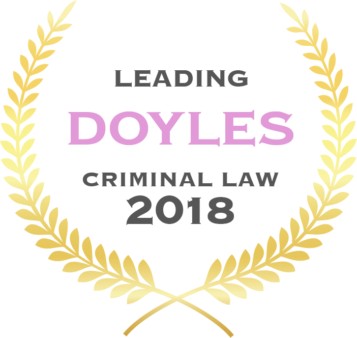 Doyles - Edward Greaves Leading Criminal Law Barrister 2018