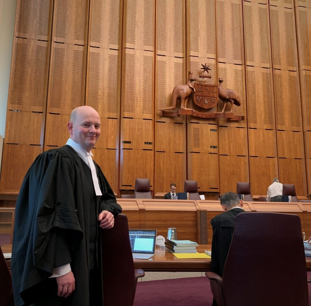Edward Greaves Barrister High Court of Australia